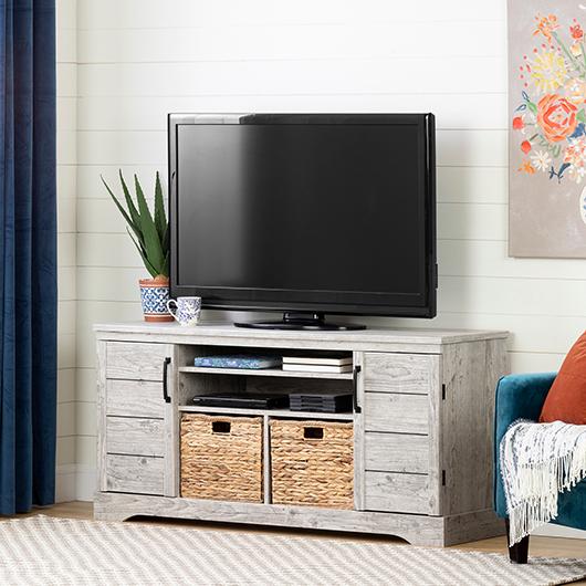 Meuble télé pour TV jusqu'à 65 South Shore