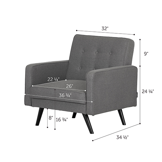 Fauteuil inclinable South Shore