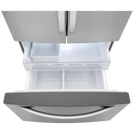 Réfrigérateur à double porte 25.1 pi.cu. LG