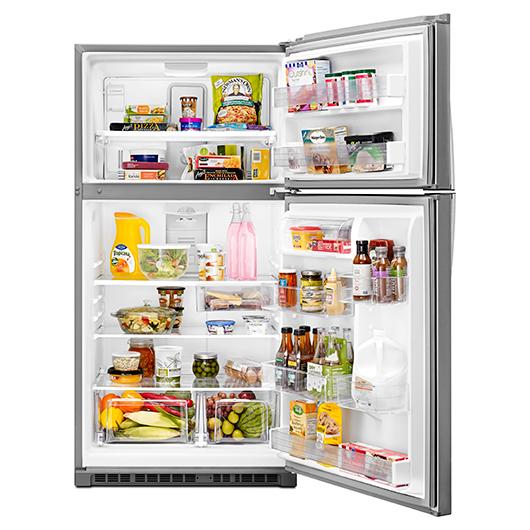 Réfrigérateur congélateur en haut 21.3 pi.cu. Whirlpool