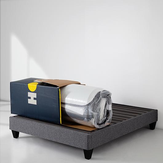 Matelas dans une boîte HOP 9 Très grand lit Collection HOP