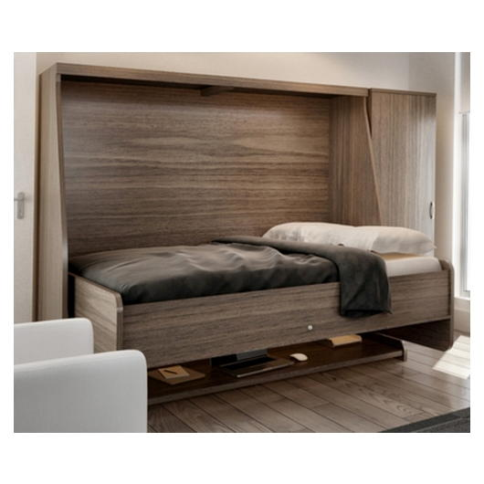 bureau lit double escamotable avec matelas tanguay. Black Bedroom Furniture Sets. Home Design Ideas
