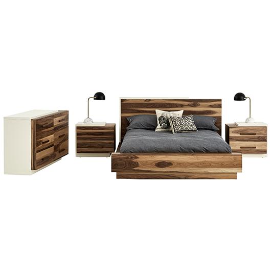 Mobilier de chambre coucher queen grand 2 places tanguay for Meubles chambres a coucher