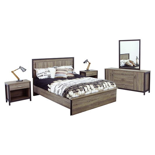 Mobilier de chambre coucher queen grand 2 places tanguay for Acheter chambre adulte