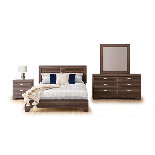 Mobilier de chambre coucher queen grand 2 places tanguay for Mobilier chambre adulte