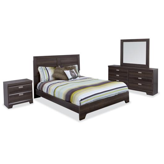Mobilier de chambre à coucher Grand lit 2 places Dynamic