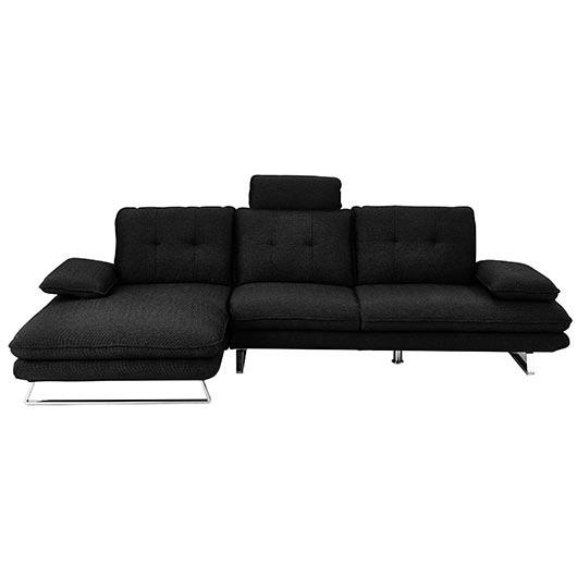 sectionnel contemporain en tissu tanguay. Black Bedroom Furniture Sets. Home Design Ideas