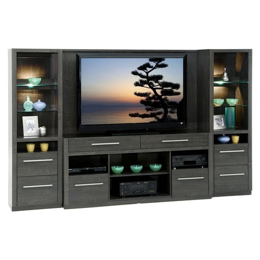 unit t l murale pour rangement multim dia tanguay. Black Bedroom Furniture Sets. Home Design Ideas