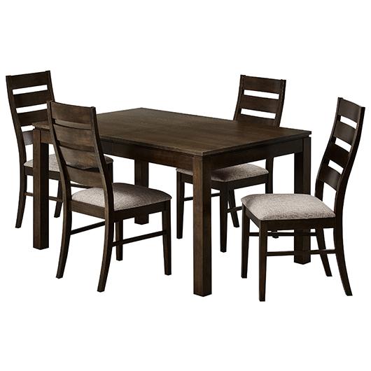 Ensemble de salle manger 5 mcx tanguay for Table et banc salle a manger