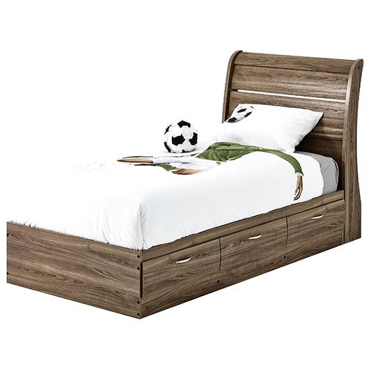lit matelot simple avec 3 tiroirs tanguay. Black Bedroom Furniture Sets. Home Design Ideas