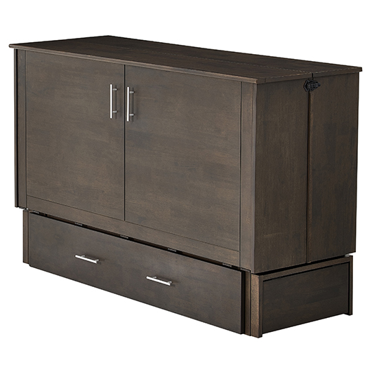 lit escamotable queen grand 2 places contemporain tanguay. Black Bedroom Furniture Sets. Home Design Ideas