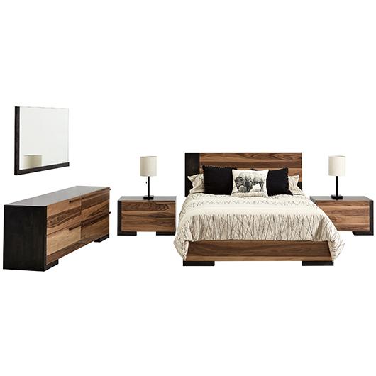 Mobilier de chambre à coucher Grand lit 2 places Ideal