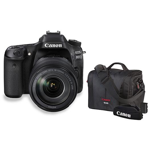 Ensemble EOS80D et accessoires Canon