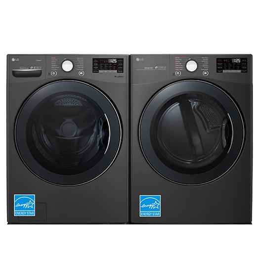Duo laveuse sécheuse à chargement frontal LG