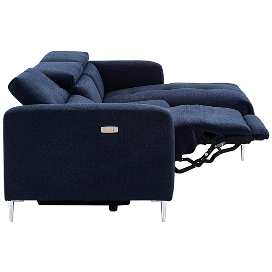 Sectionnel inclinable en tissu Kuka motion