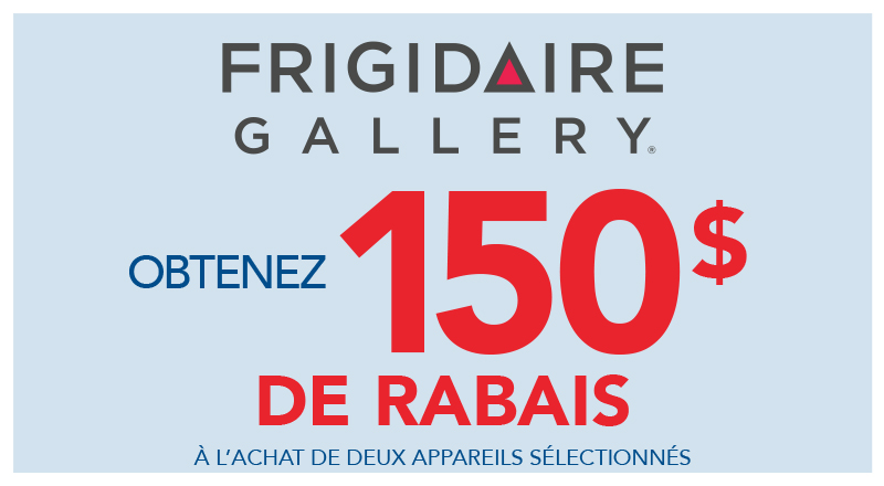 Frigidaire coupons rebates